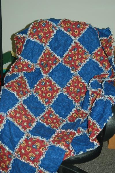 Rag Quilts Using Regular Cotton Fabric