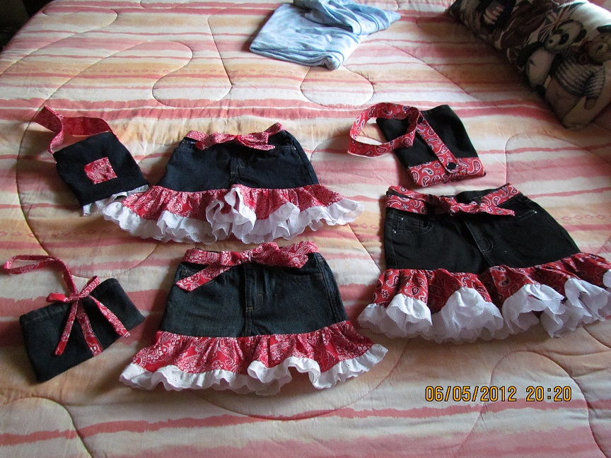 Name:  Jeans skirts for girls 2.JPG