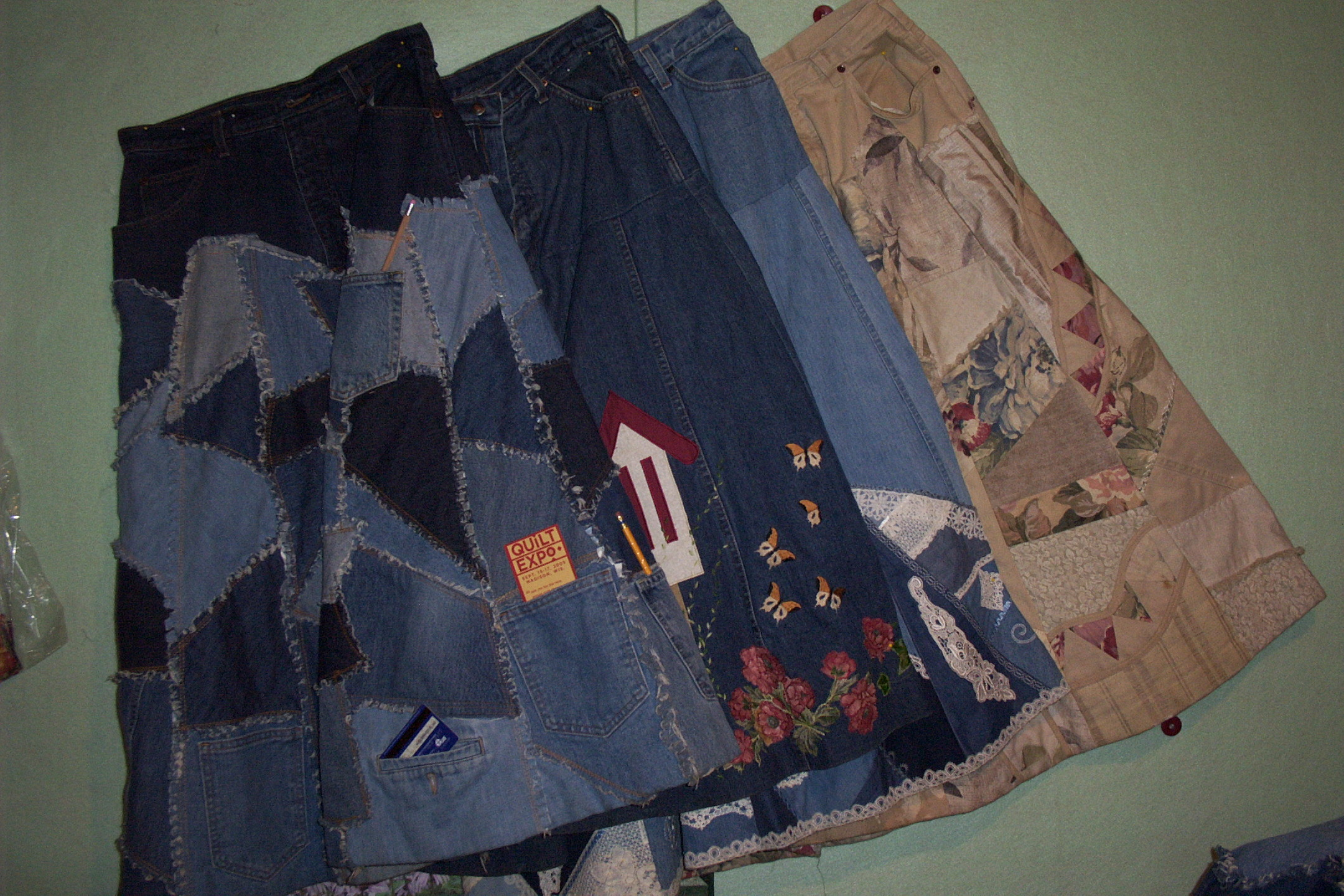 Name:  Denim Skirt Quilt like.jpg