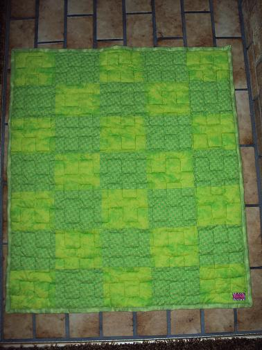 Name:  Green baby blanket.jpg