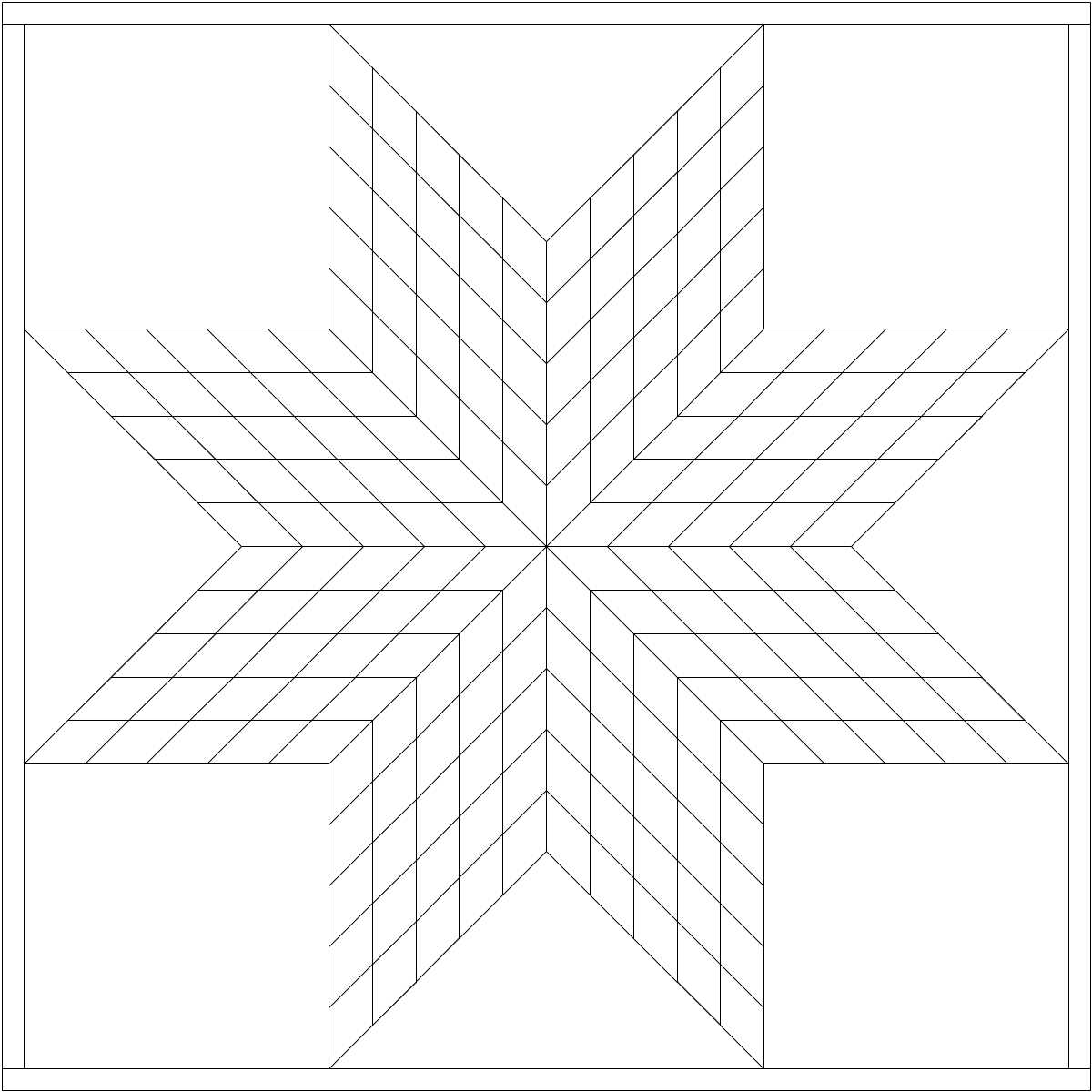Printable quilt pattern coloring pages - Thread Looking For Lone Star Pattern To Color In