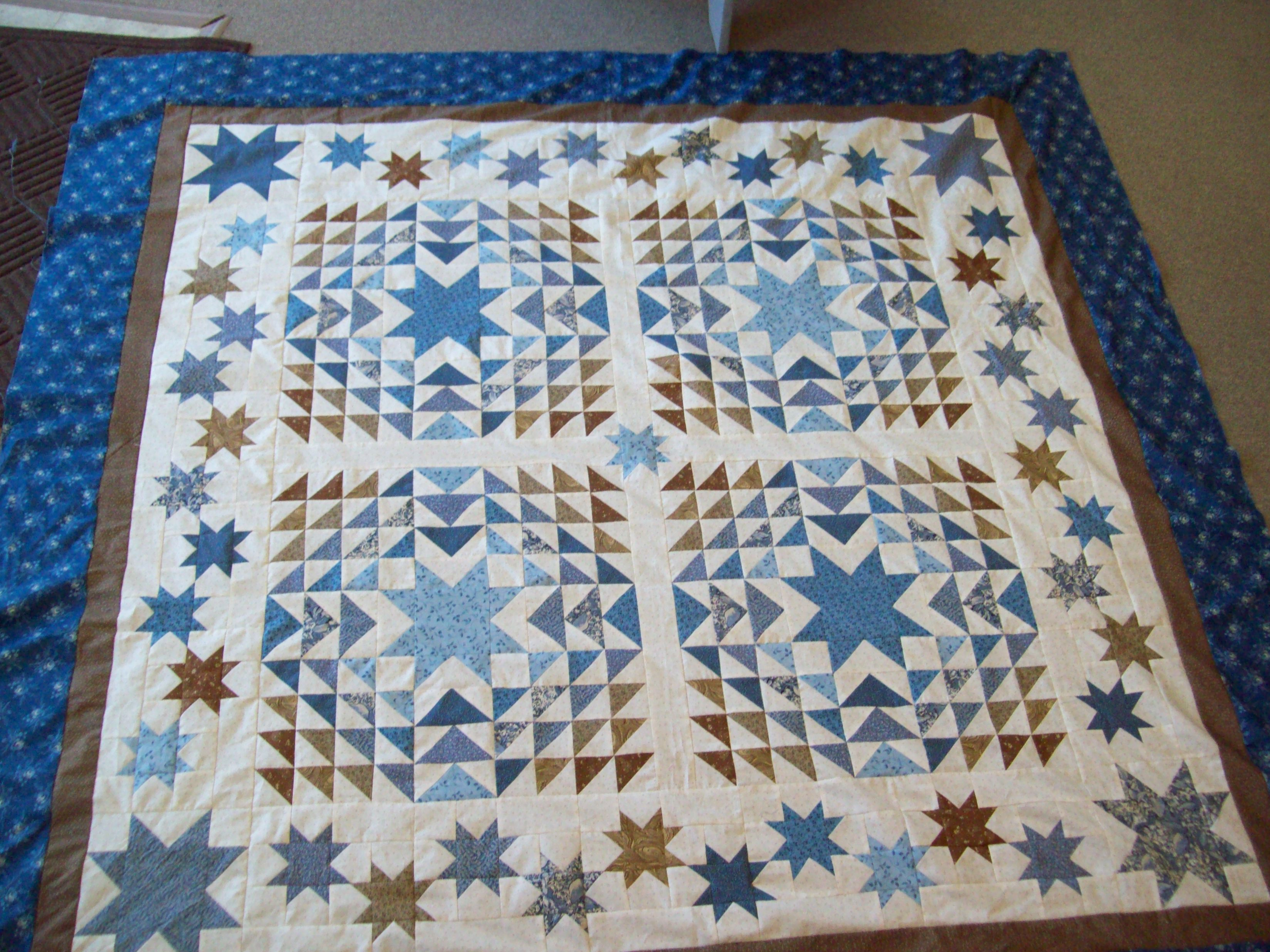 Name:  BLueberry Crumb Cake Quilt.JPG Views: 669 Size:  1.11 MB