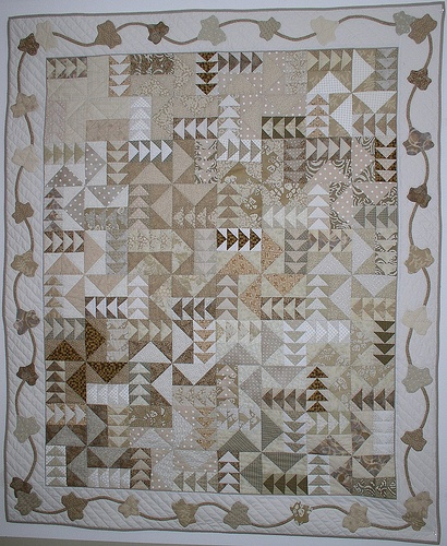 Name:  Flying Geese Neutrals quilt.jpg Views: 6450 Size:  128.8 KB