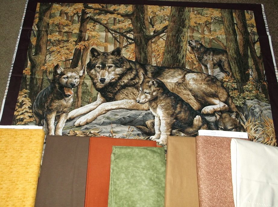 Name:  wolf quilt fabrics.JPG