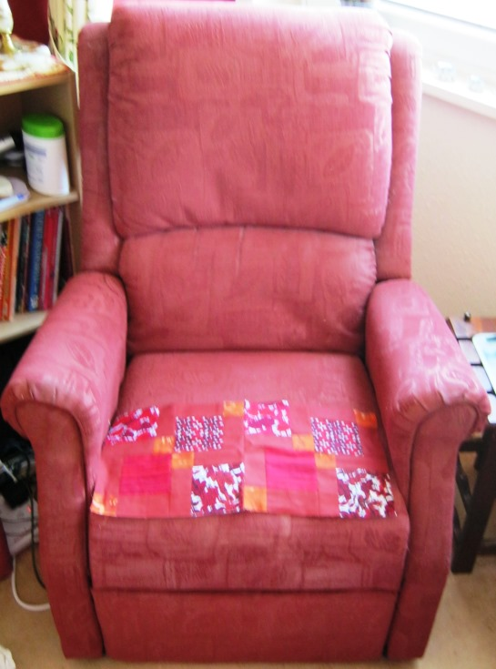 My gorgeous tub chair needs a cover