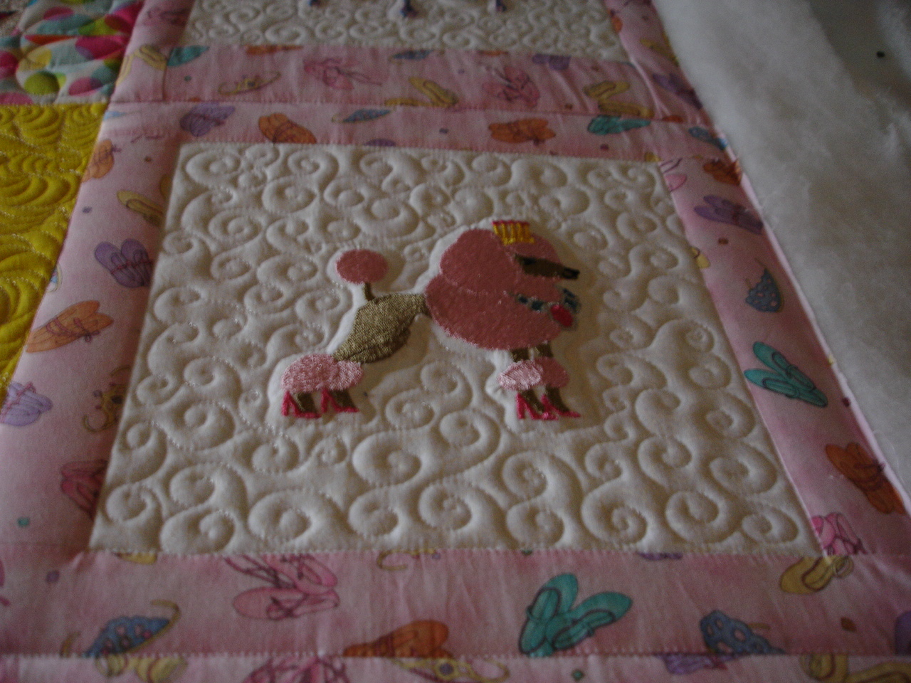 Name:  Izzies quilt poodle princess.JPG Views: 2443 Size:  552.7 KB