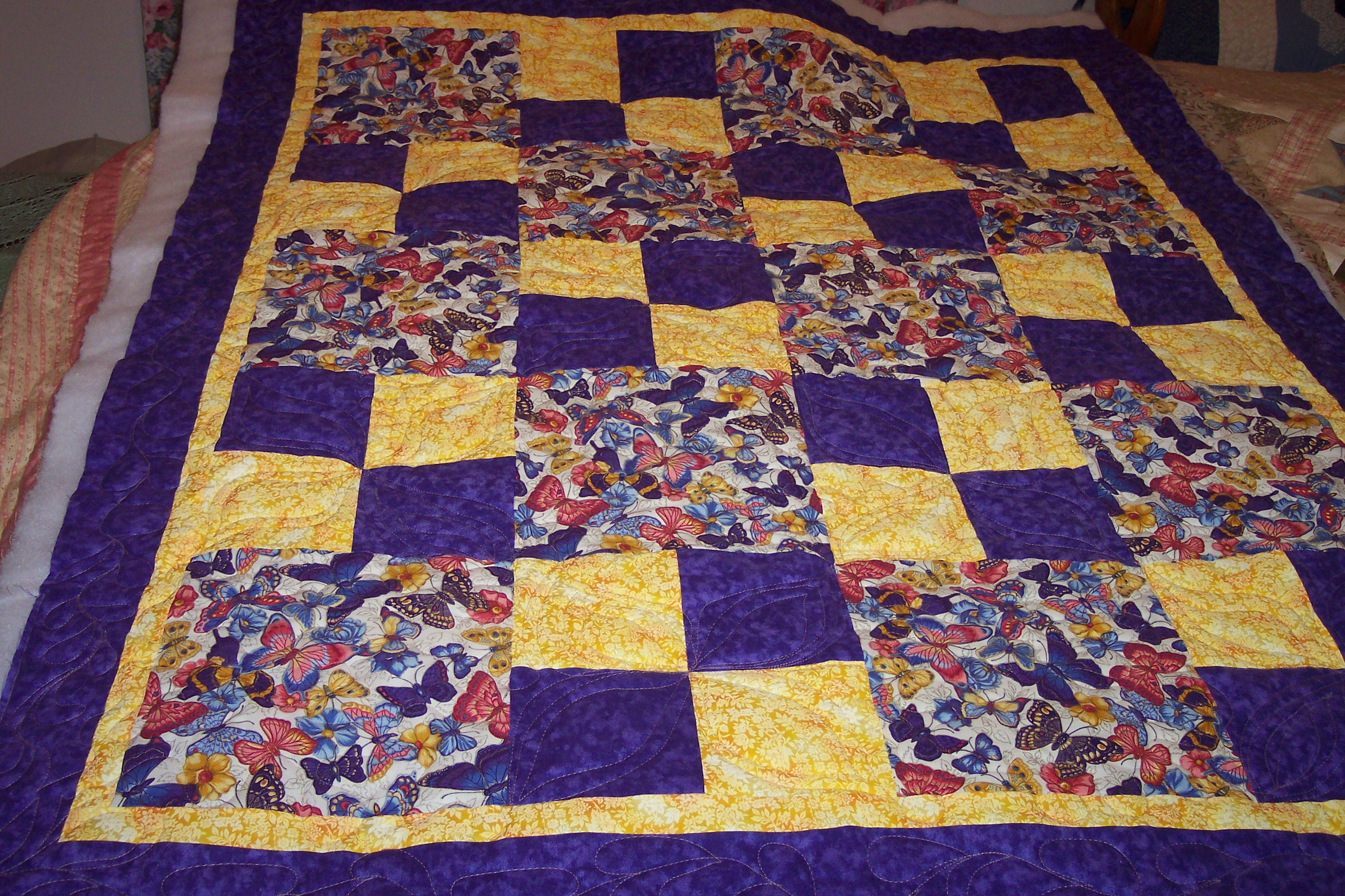 I Need Help Fast Quilt Pattern Easy 3 Colors