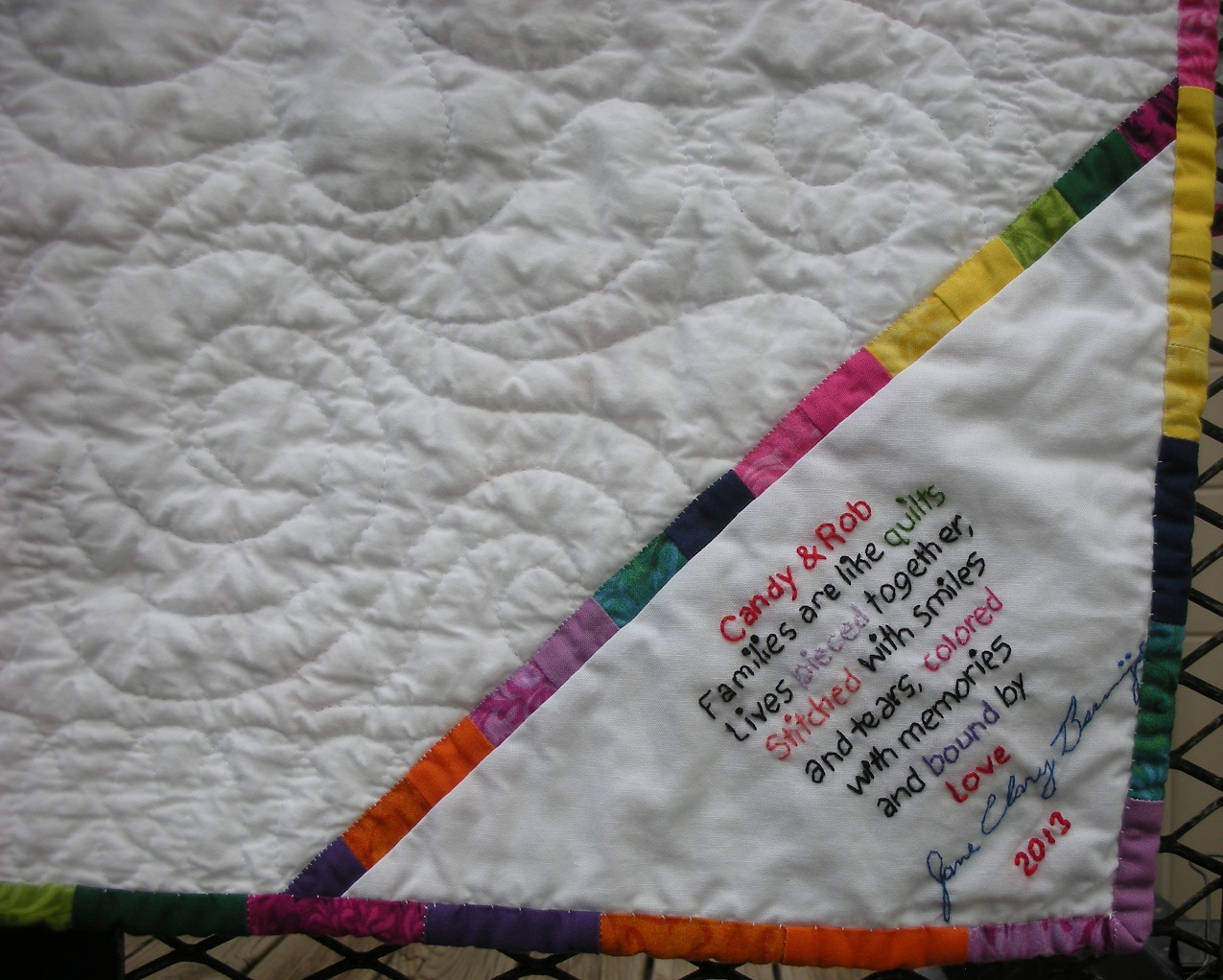 Get What Done Make It Right How You >> Custom Quilt labels Wanted - Page 2