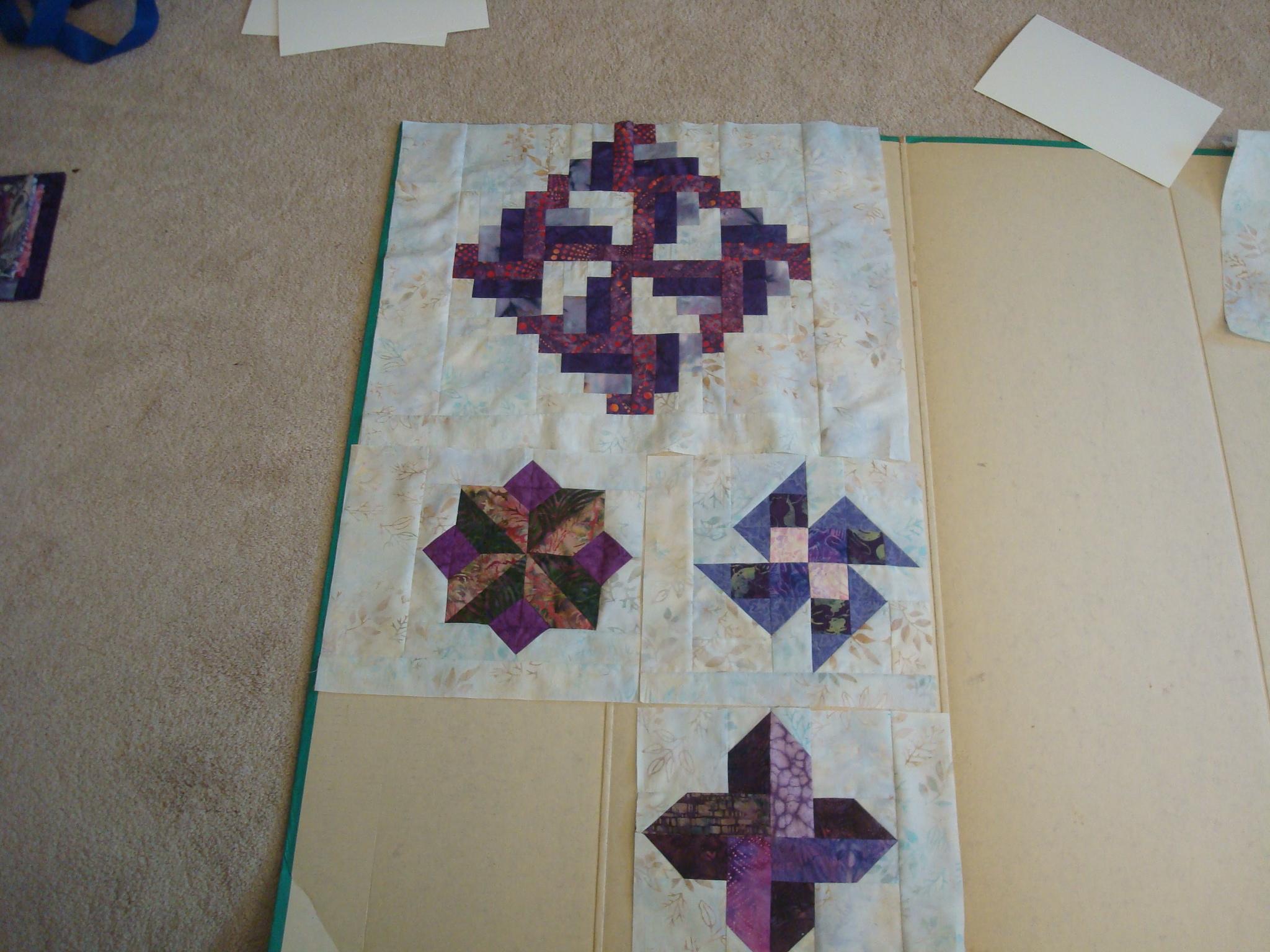 Name:  2015-January-2015-Purple batik quilt border choices 002.jpg Views: 2662 Size:  1.08 MB