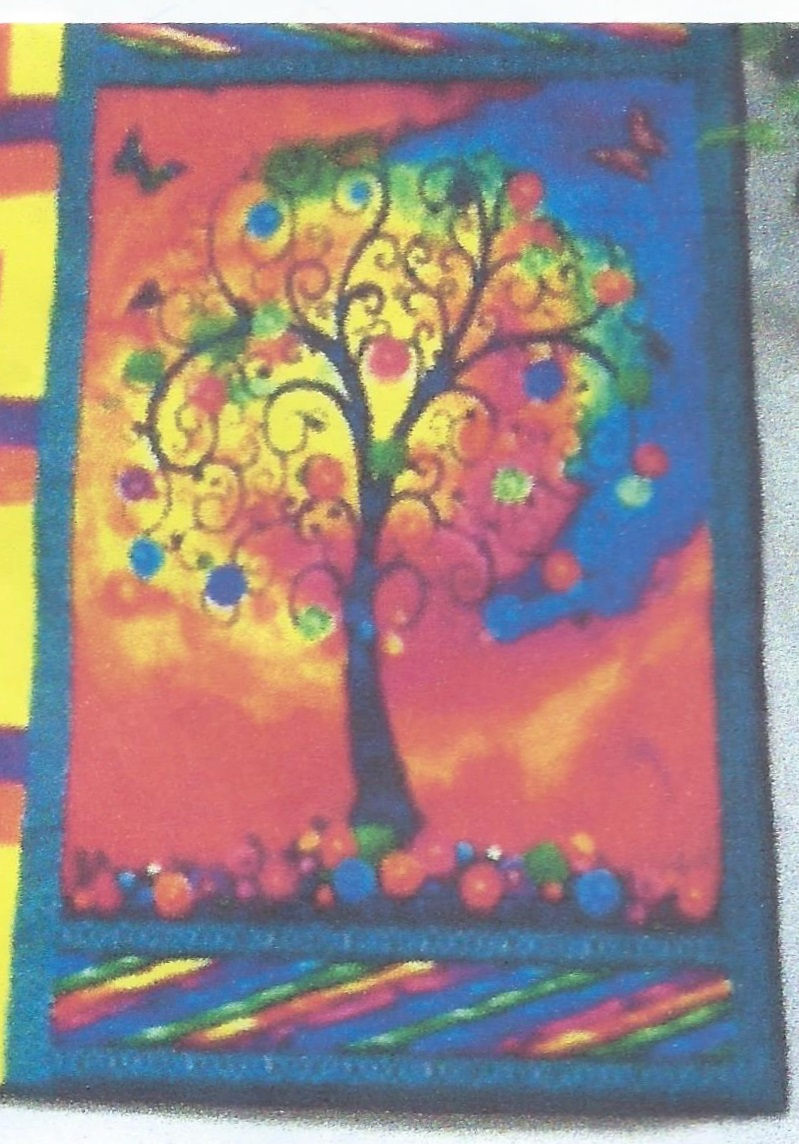 Fantasia Tree Panel Need Idea For Quilt