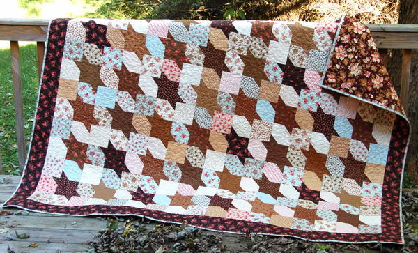 Quilt Patterns For A Man : Fabric for men s quilts?