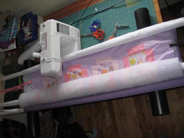 DIY Quilt Frame For My Sewing Machine Any Suggestions Inspiration Quilting Frame For Domestic Sewing Machine