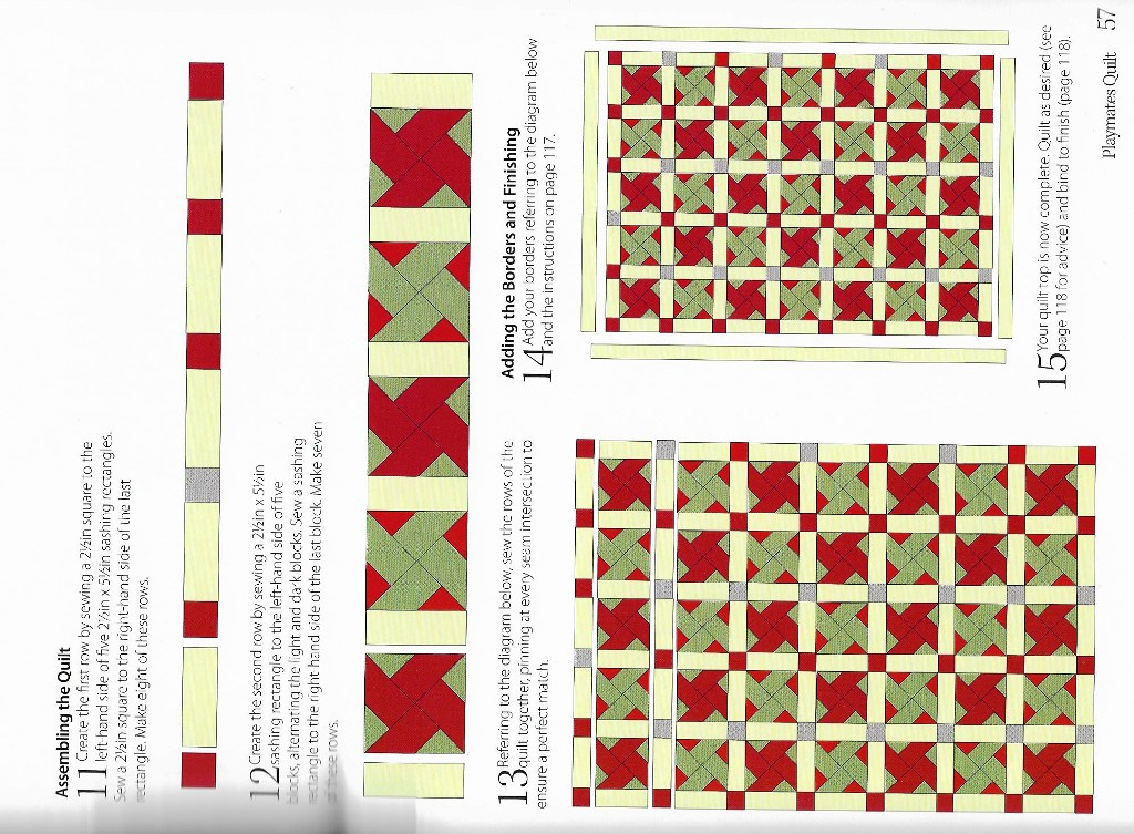 Click image for larger version.  Name:Jelly Roll quilt instructions pg 57.jpeg Views:157 Size:230.2 KB ID:571806