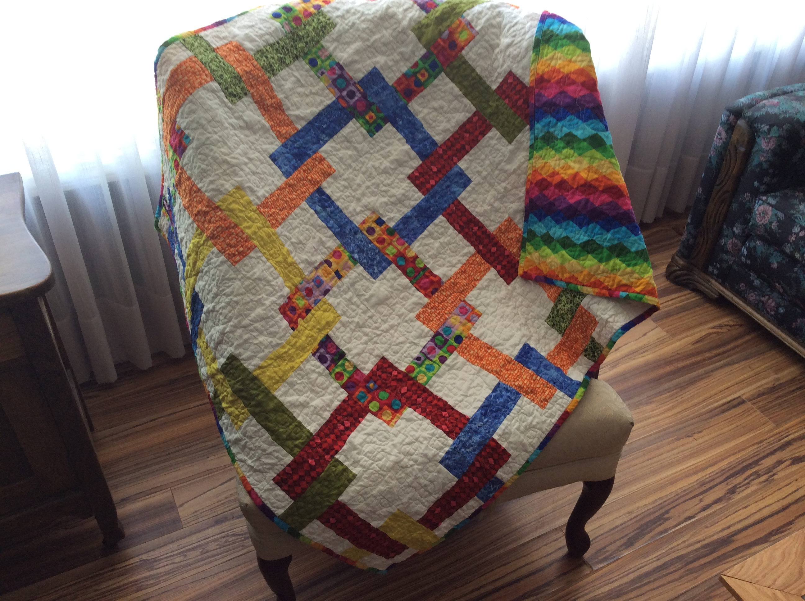 Gender Neutral Baby Quilt Page 4