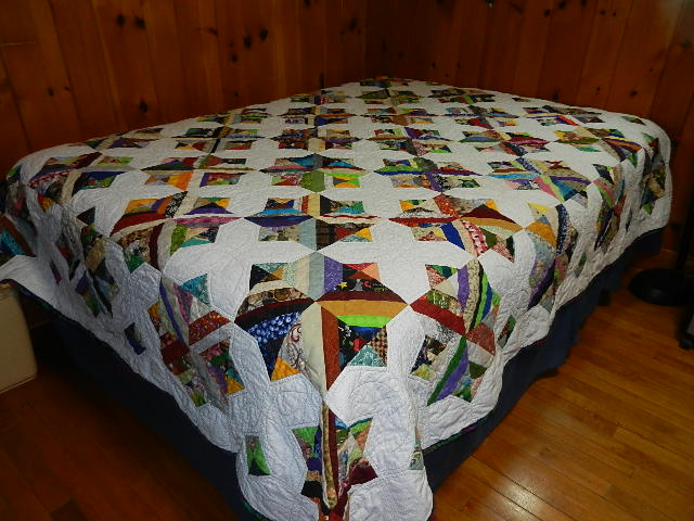 Name:  Strip Quilt finished 002.JPG Views: 978 Size:  88.0 KB