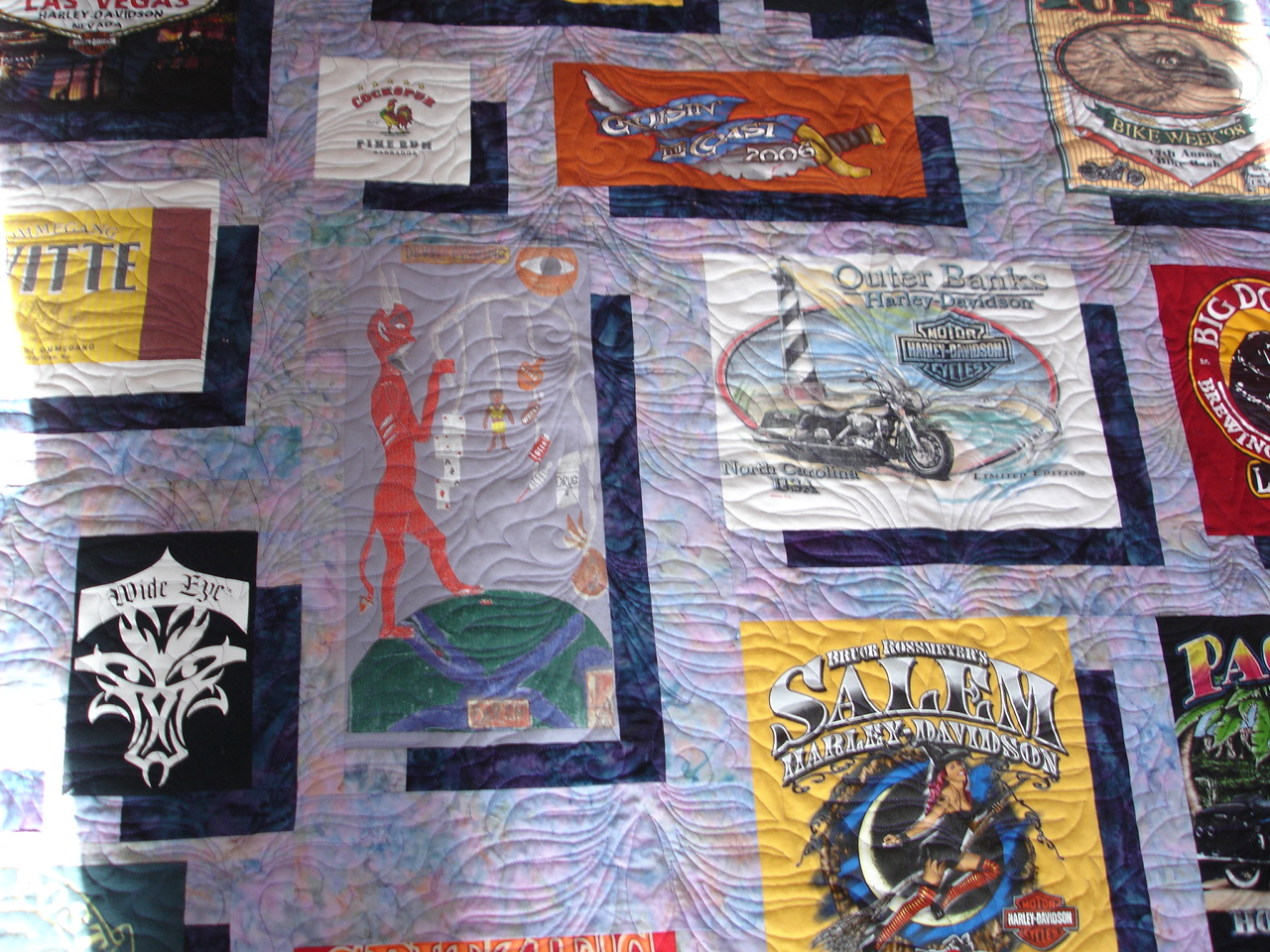 T Shirt Quilt Pattern With Different Size Blocks Custom Inspiration Design