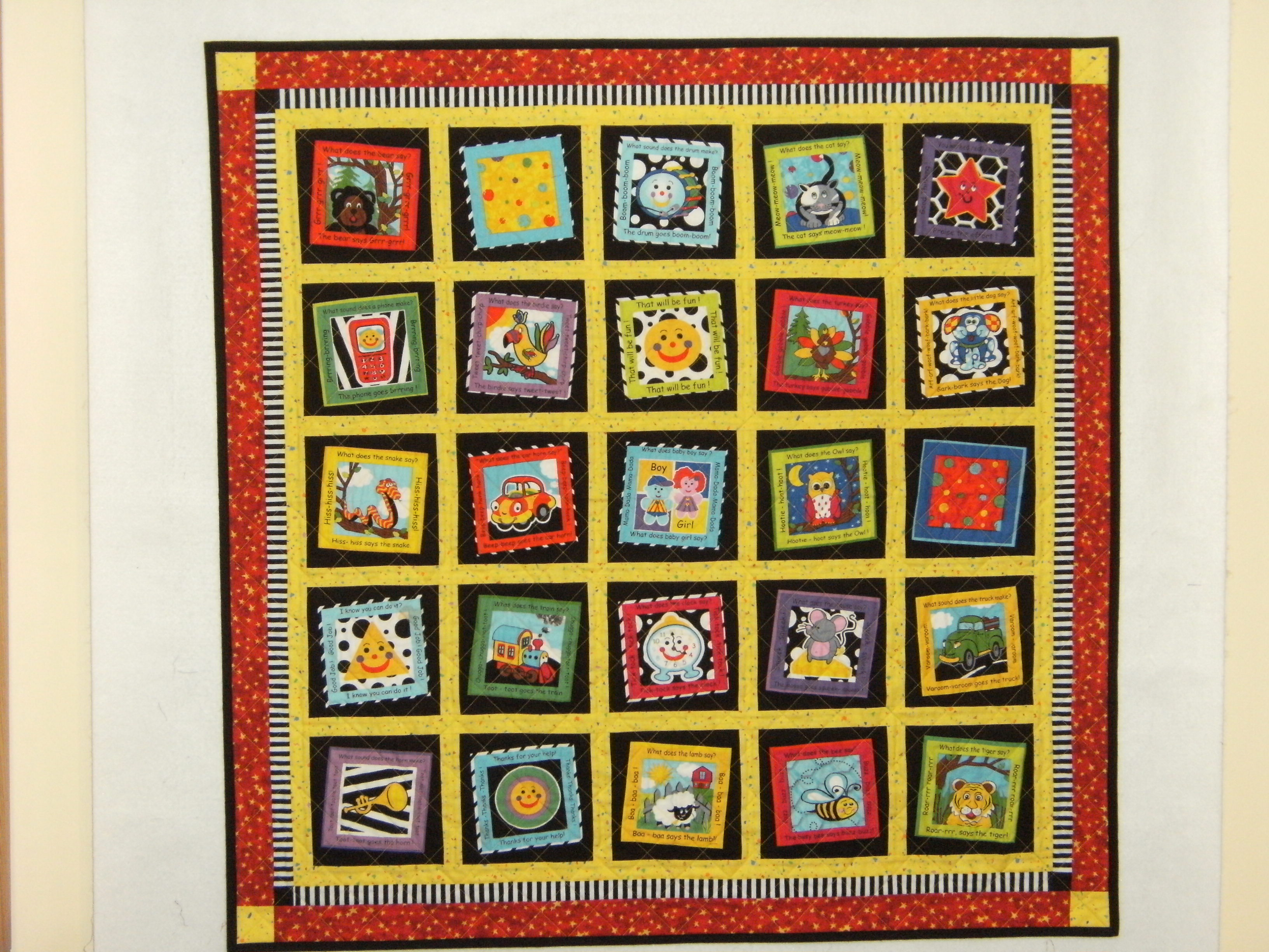 Name:  J & C's baby quilt front.JPG Views: 718 Size:  1.24 MB
