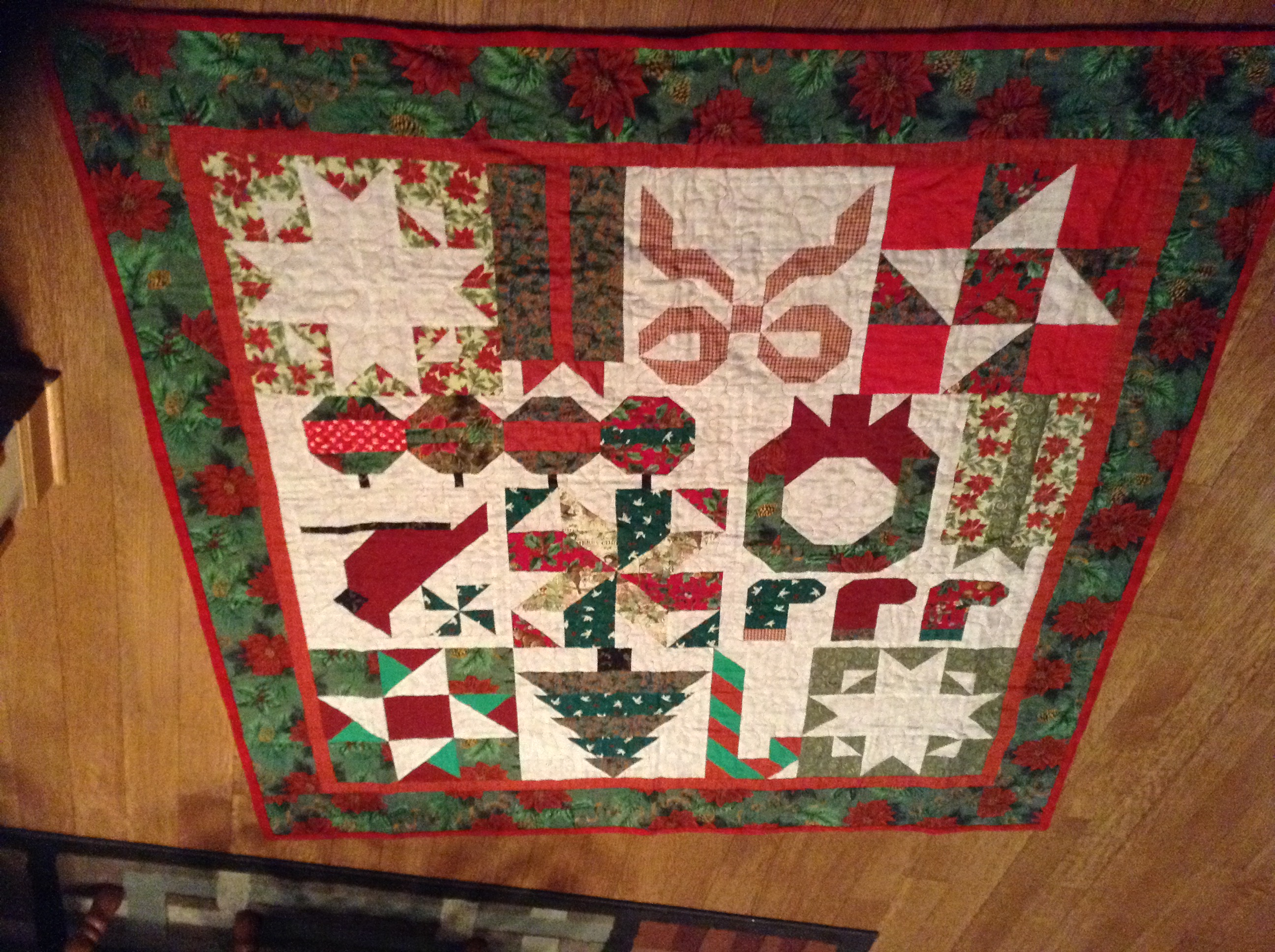 Looking For Scrappy Christmas Quilt Patterns With Presents Or Stockings Or Trees Quiltingboard Forums