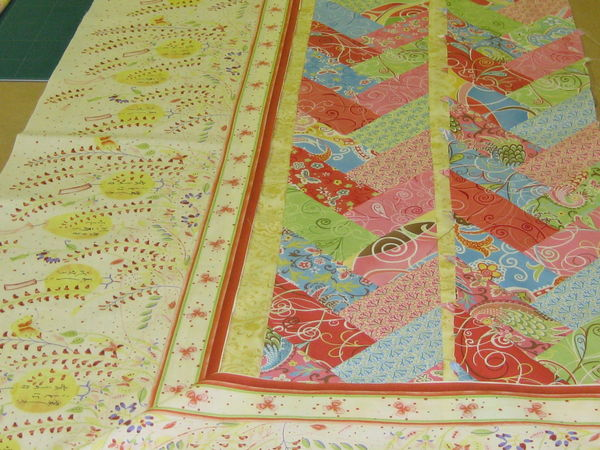 French Braid Quilt Pattern Using Jelly Roll : French Braid Pattern