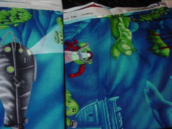 Scuba Diving Fabric
