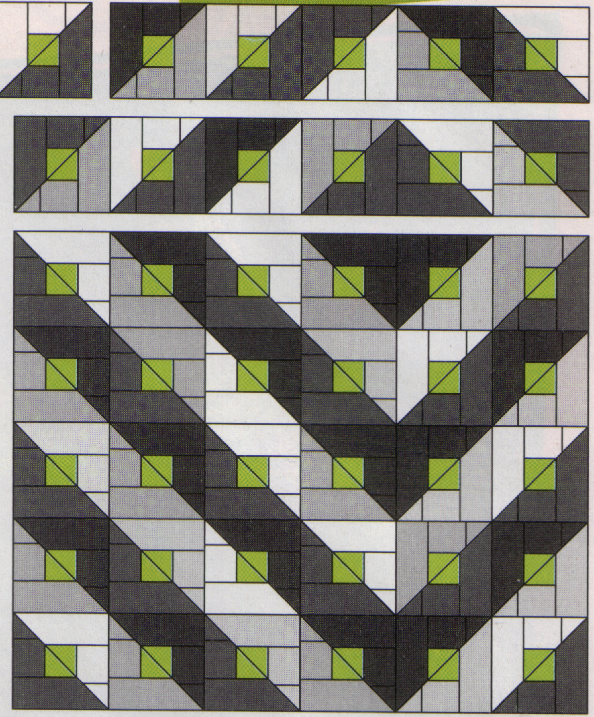 Black And White Quilt Page 3