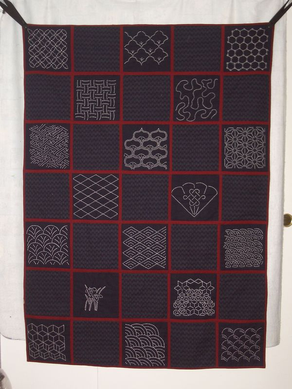 Do You Make Sashiko Hand Quilting Embroidery On Quilts