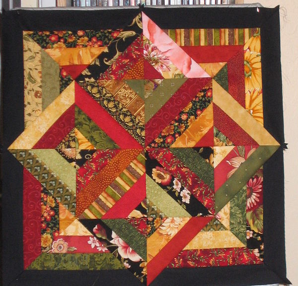 Small Tuscan Quilt For Kitchen