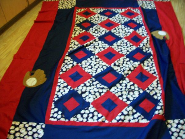 Sports Themed Quilt Patterns : Sports quilts for boys
