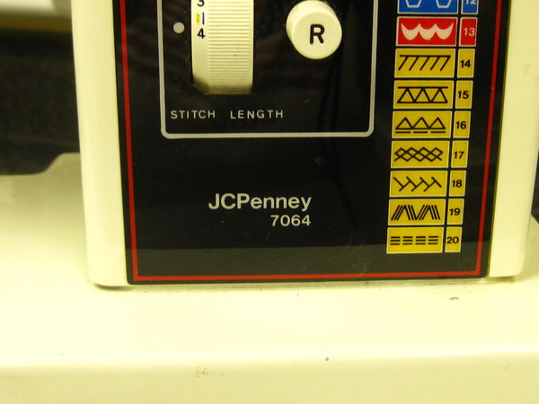 j c penney sewing machine