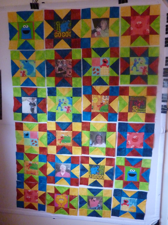 Name:  Kody Elmo quilt in progress.jpg Views: 366 Size:  394.0 KB