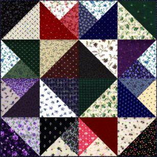 Name:  Hot Pad Pattern-Scrappy Star 300.jpg Views: 355 Size:  33.0 KB