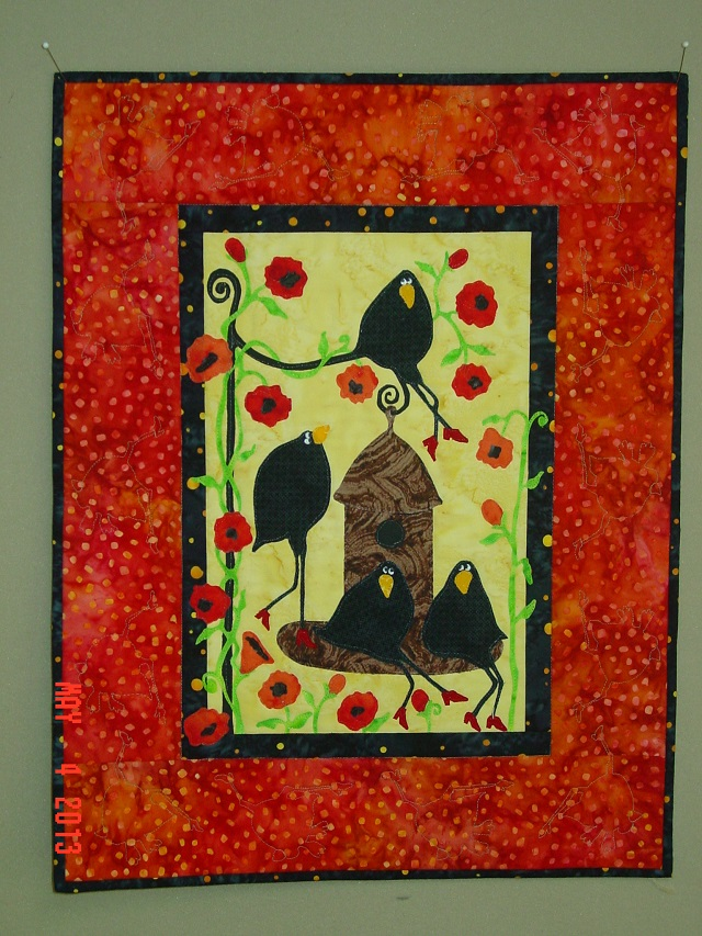 Name:  finished crow wall hanging 014.JPG