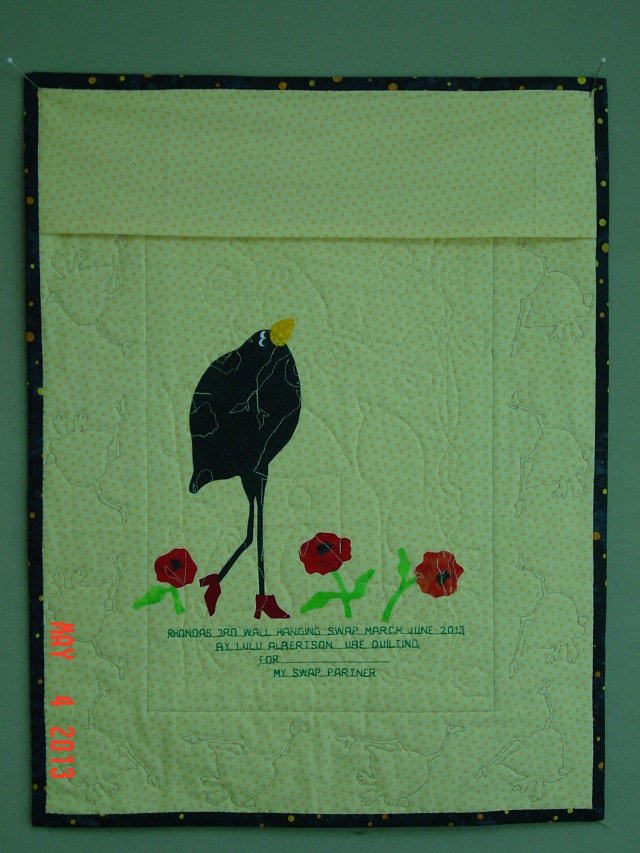 Name:  finished crow wall hanging 015.JPG