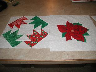 Name:  Block & Poinsettia -Oct '13 Bee frm Oksewnsew.JPG