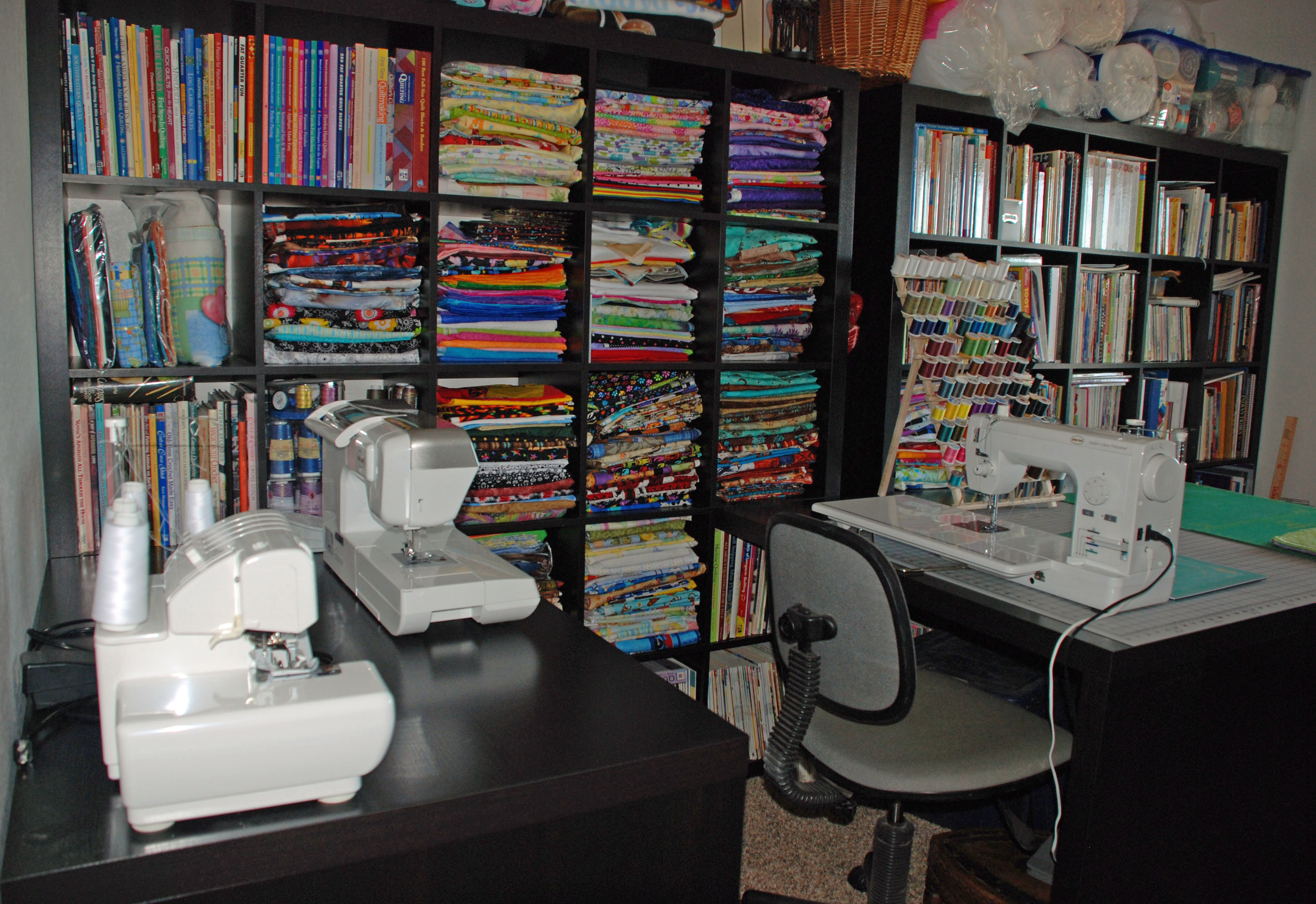 My New Sewing Quilting Room Awaits Me