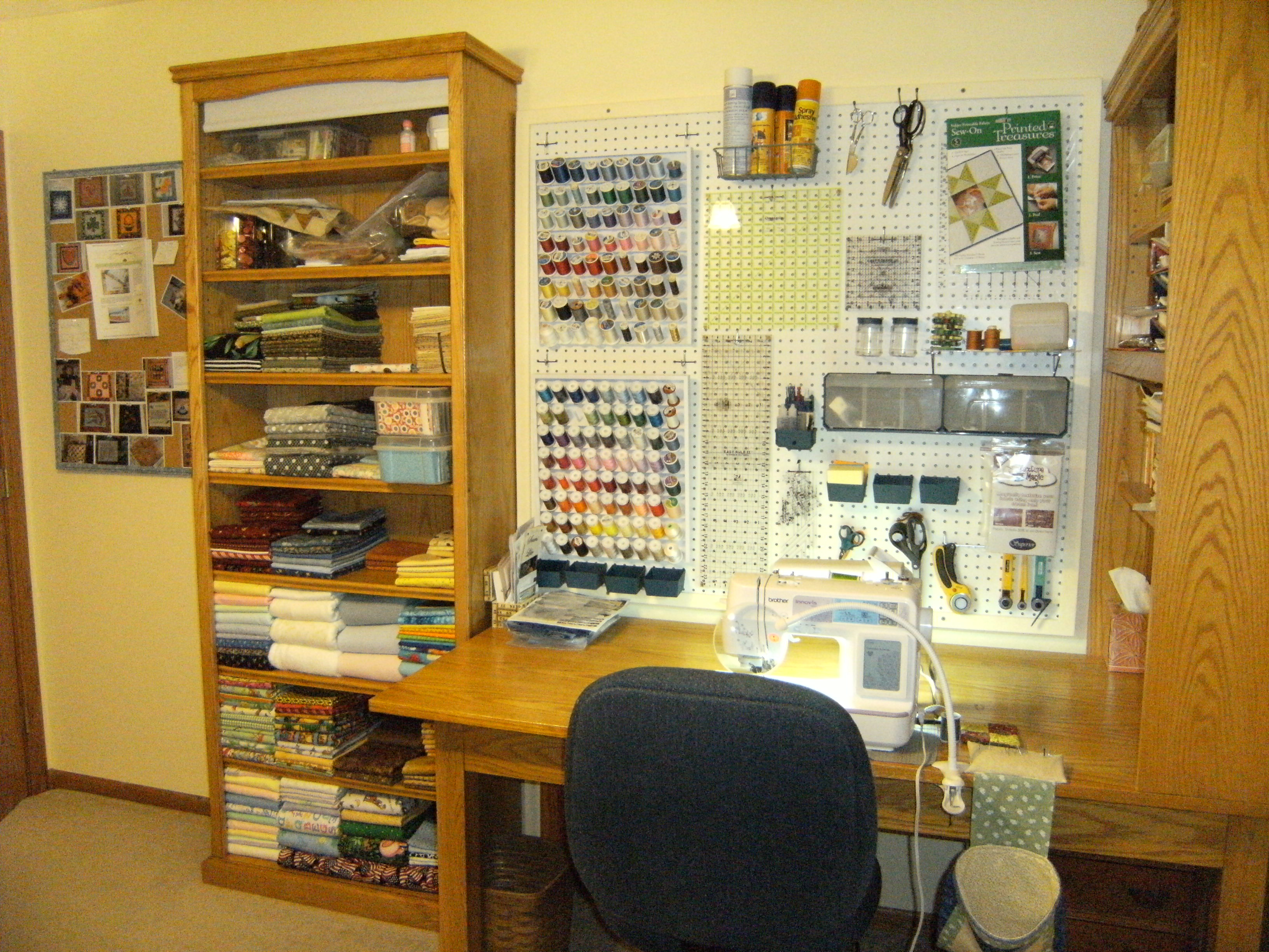 Name:  S. wall of craft room.JPG