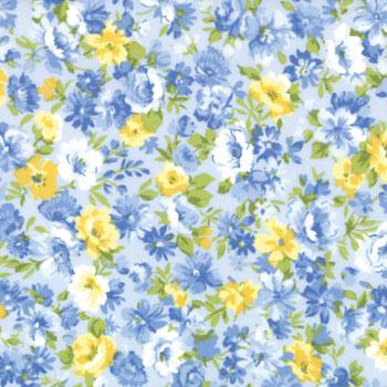 Sneek Peek Summer Breeze Yellow Amp Blue Roses