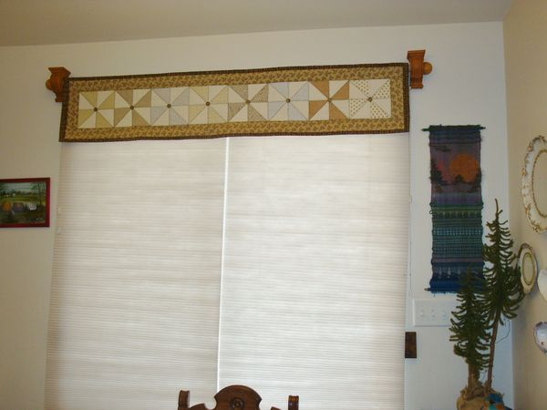 Over Patio Door Valance