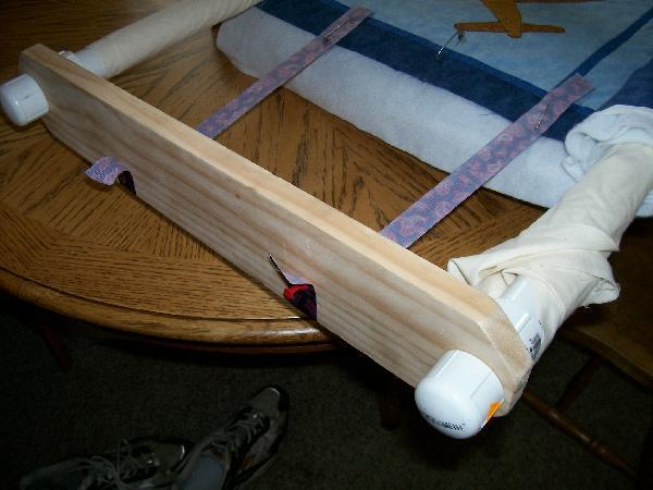New Homemade Quilt Frame