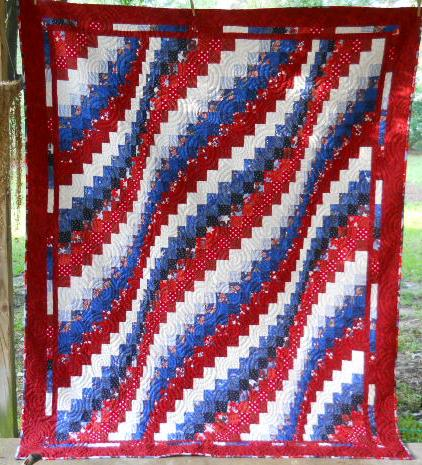 Bargello for nancy 39 s otions quilt of valor contest for Red door design quilts