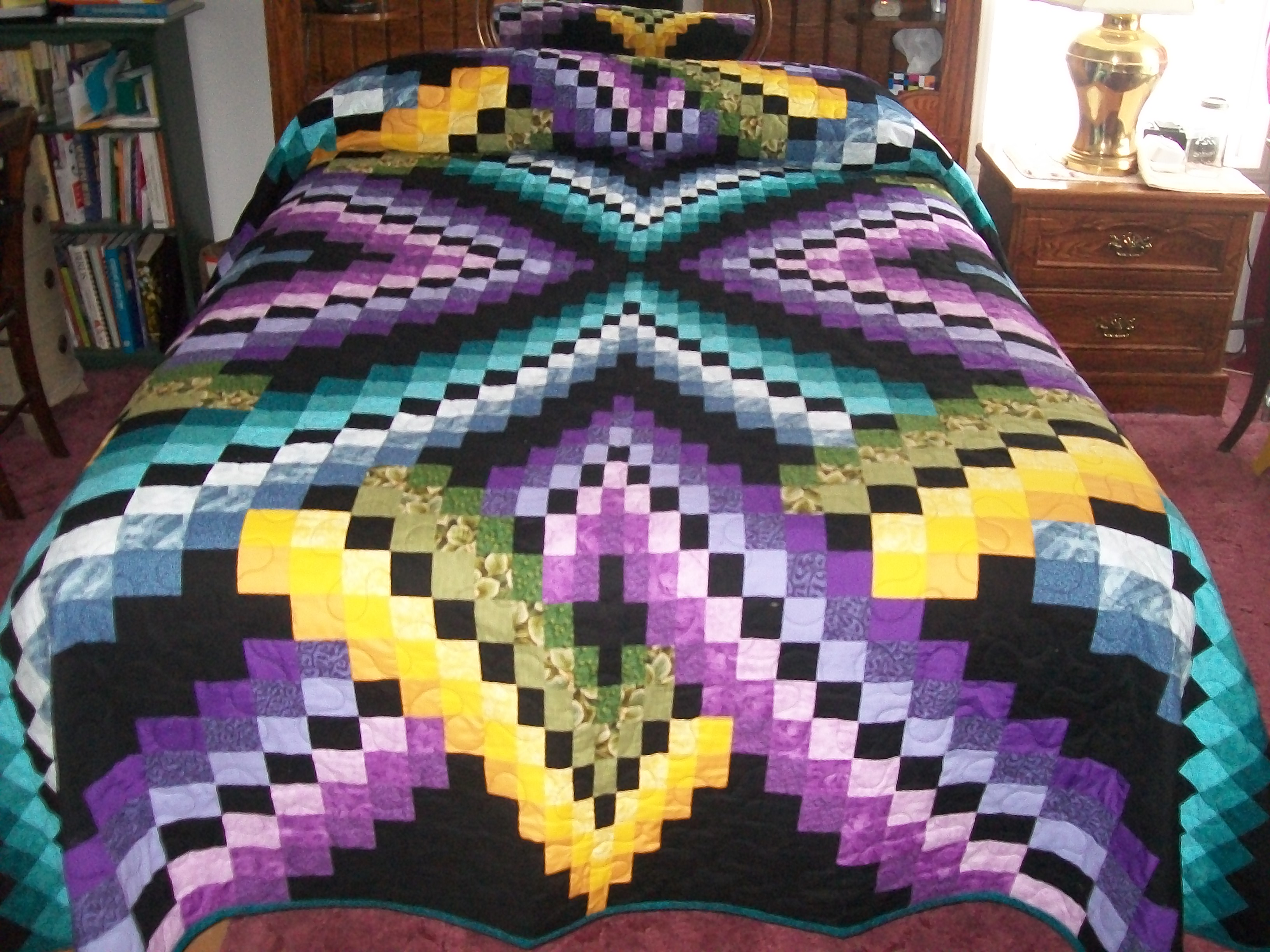 Free Bargello Quilt Pattern using design pattern in uml