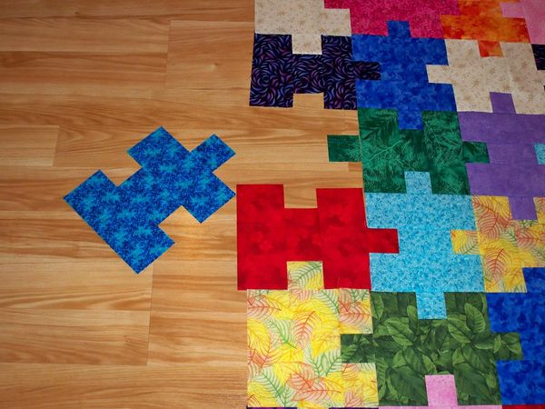 Puzzle Quilt Patterns Free