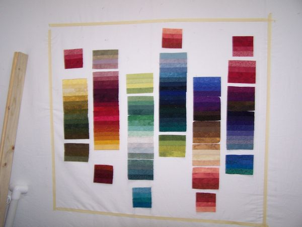 Woven Ribbons Quilt For Liz