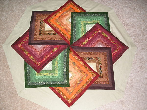 Quilt Block Pattern spinning star q...