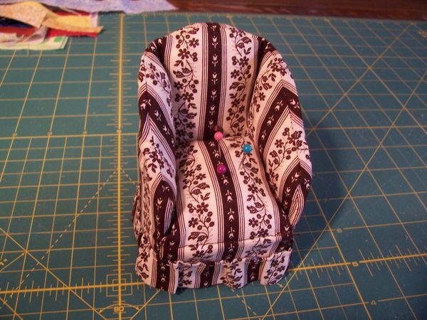 Pincushion Chair - Gift thru the Mail!
