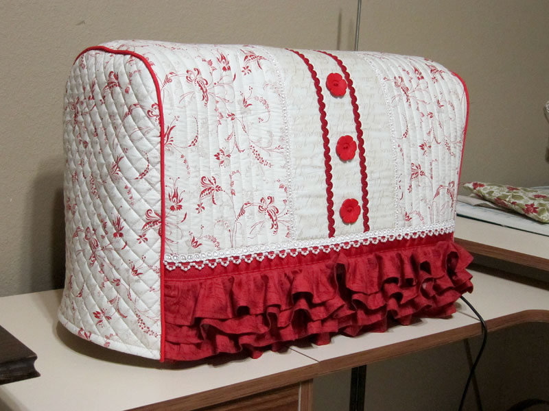 Как сшить чехол для швейной машинки своими руками