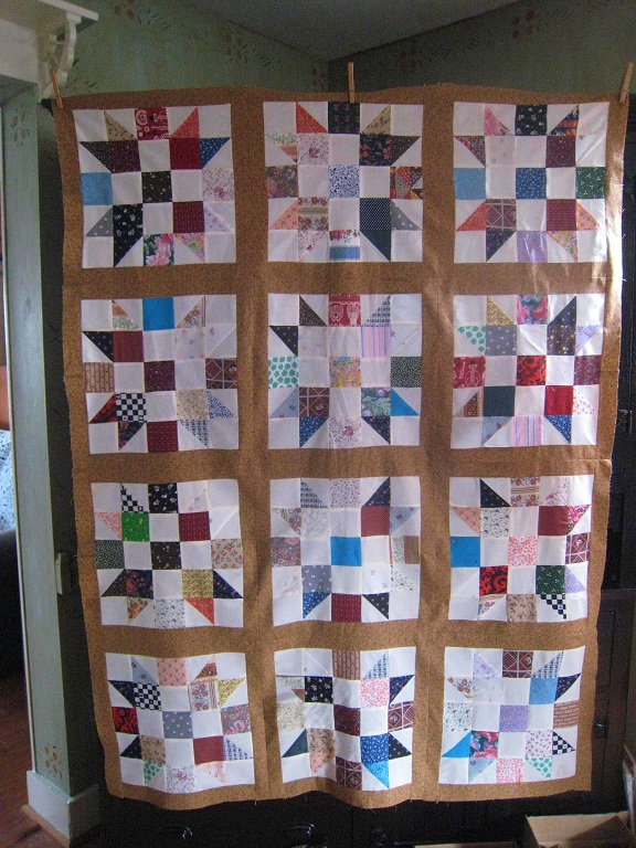 Name:  First Scap Quilt Top Throw Size.jpg
