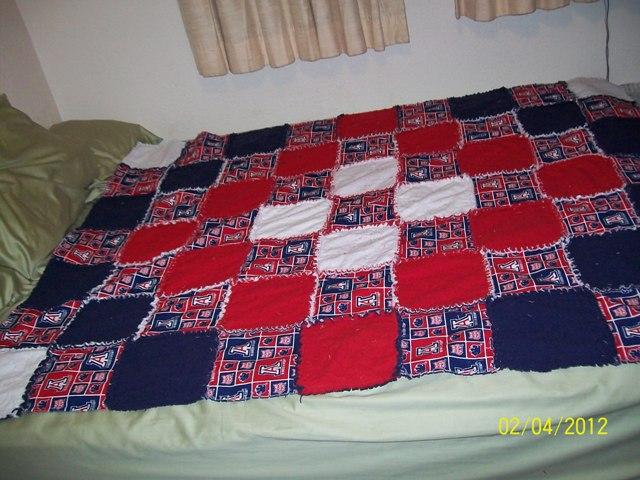Name:  U of A rag quilt.jpg Views: 1287 Size:  107.1 KB
