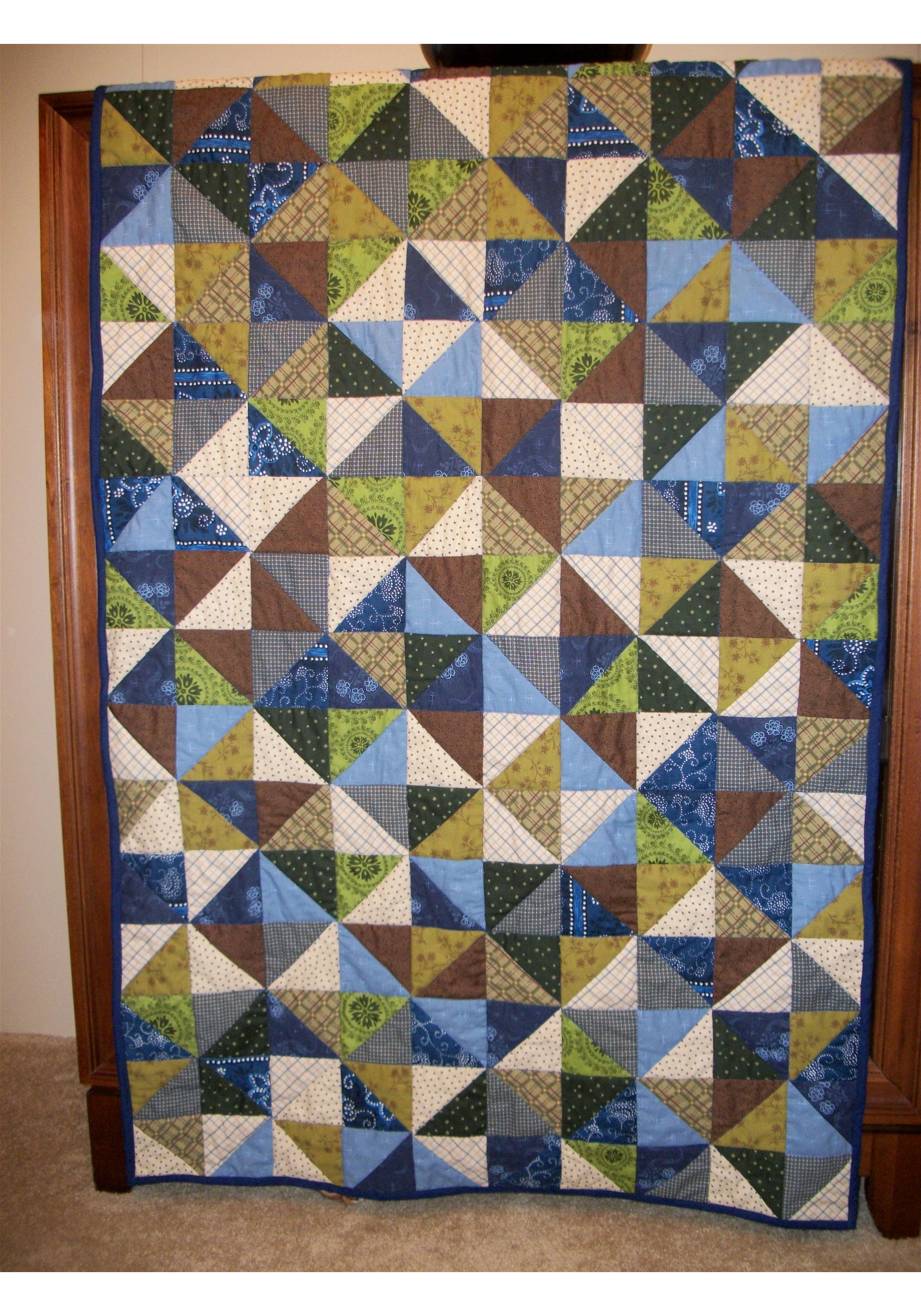 Name:  My First Lap Quilt Finished.jpg