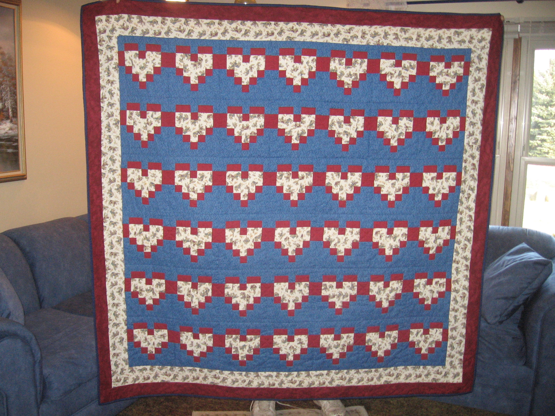 Name:  heart cow quilt 002.JPG